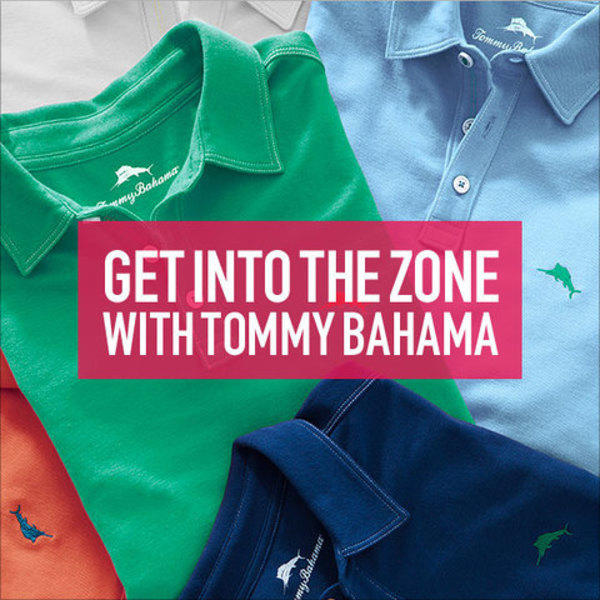 Get into the Zone with Tommy Bahama image