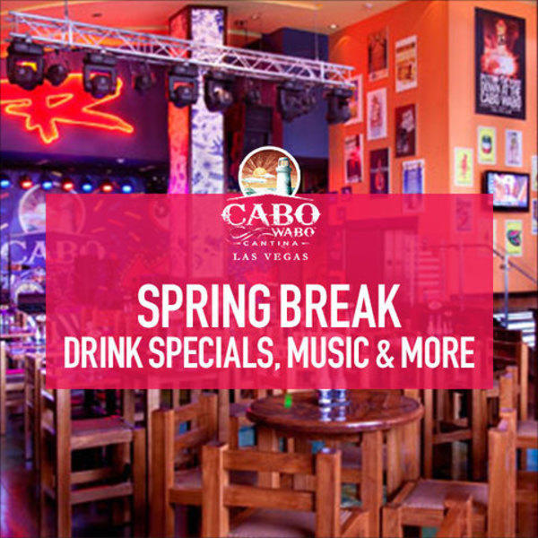 Spring Break Drink Specials, Music & More image