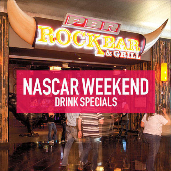 NASCAR Weekend Drink Specials image