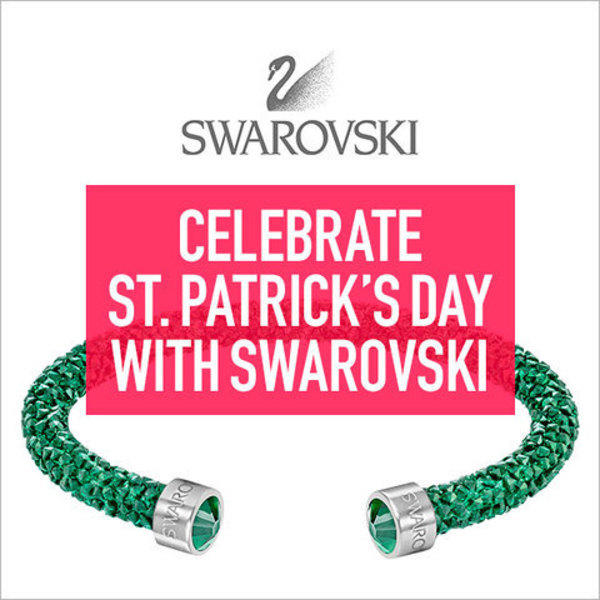 Celebrate St. Patrick's Day with Swarovski image